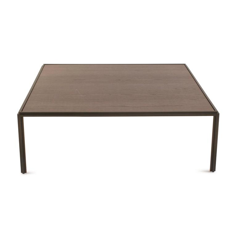 Metal And Oak Jan Coffee Table By Vincent Van Duysen For Molteni Italy For Sale At 1stdibs