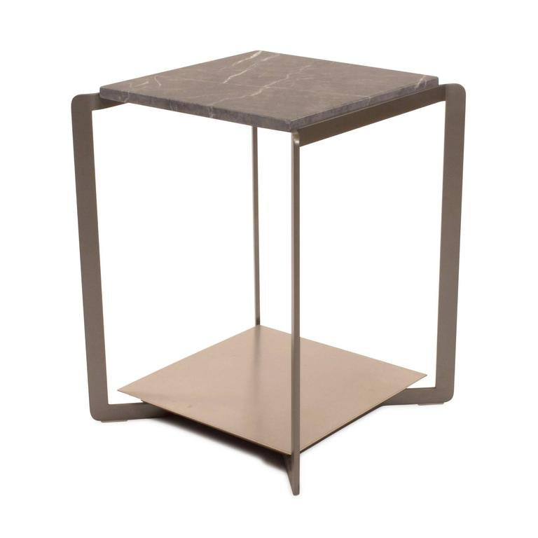 marble top side table india french style caned shelf target