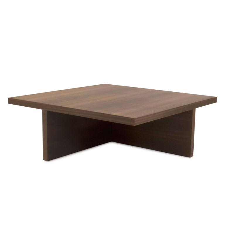 Solid wood tetris low coffee table by nicola gallizia for for Low coffee table wood