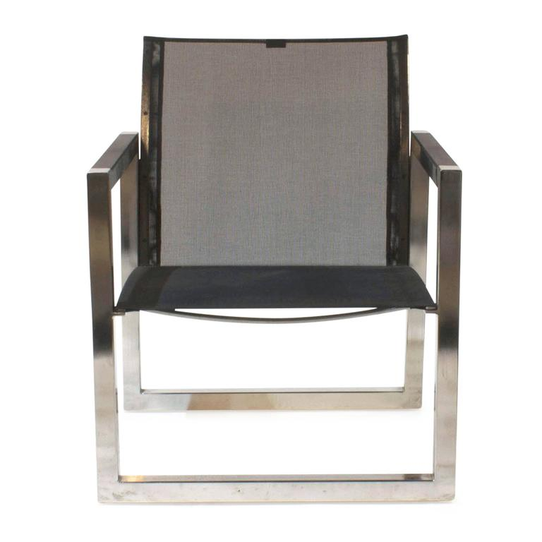 Black Ninix 77 Outdoor Dining Lounge Armchair By Royal