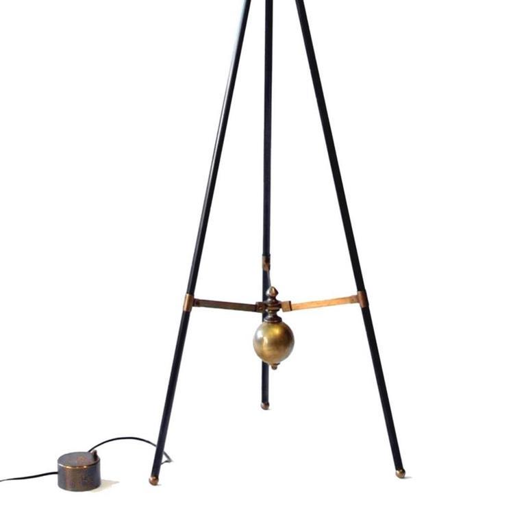 bronze adjustable giraffe floor lamp by william lipton lighting france 2 - Giraffe Lamp
