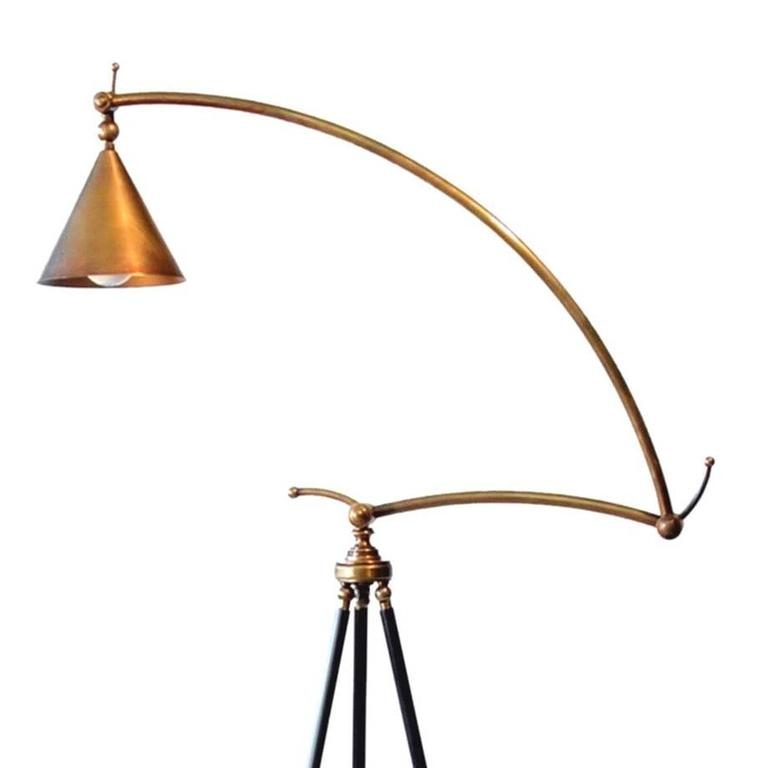 bronze adjustable giraffe floor lamp by william lipton lighting france 3 - Giraffe Lamp
