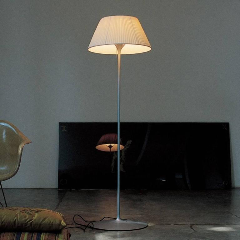modern flos romeo soft f floor lamp by philippe starck for. Black Bedroom Furniture Sets. Home Design Ideas