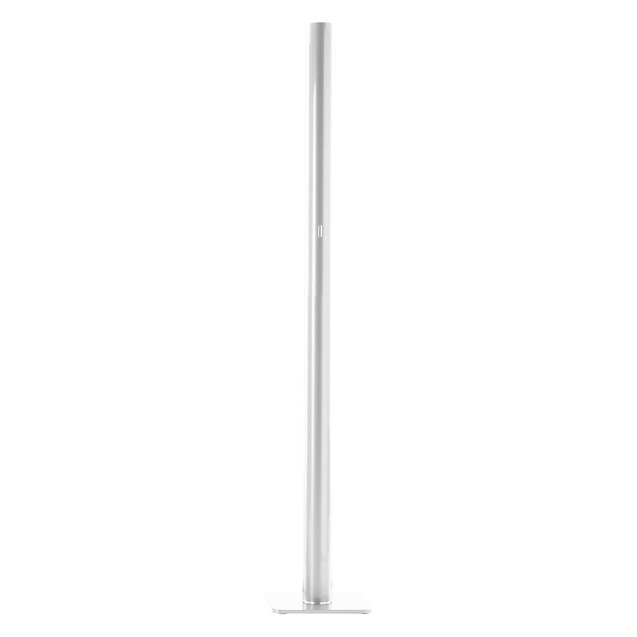 white ilio floor lamp by ernesto gismondi for artemide italy