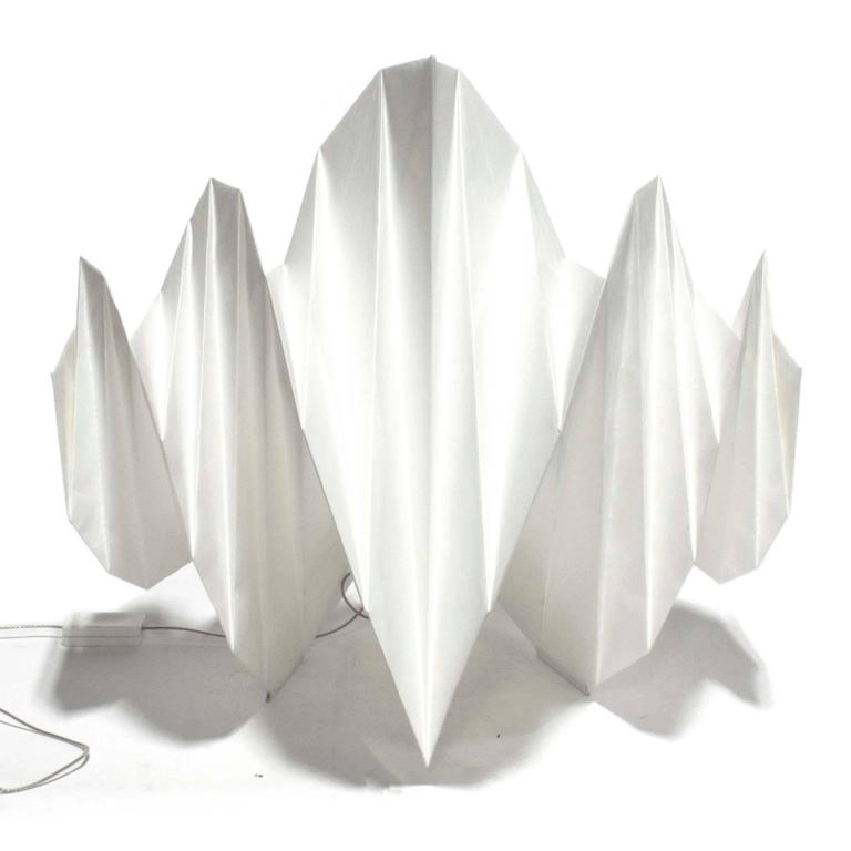 Mendori table lamp by issey miyake for artemide italy for for Artemide issey miyake