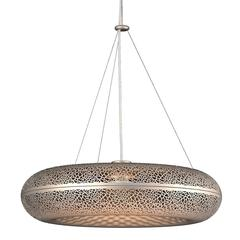 Louis Poulsen Gold Aeros Suspension Pendant Lamp Chandelier by Ross Lovegrove