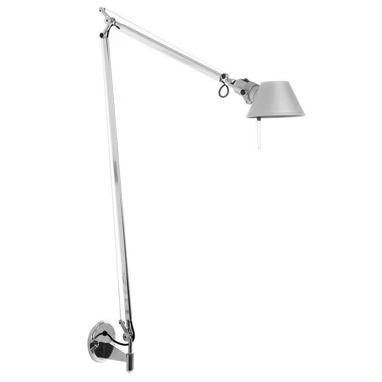 Tolomeo maxi led wall light sconce by michele de lucchi for artemide italy for sale at 1stdibs - Tolomeo wall sconce ...