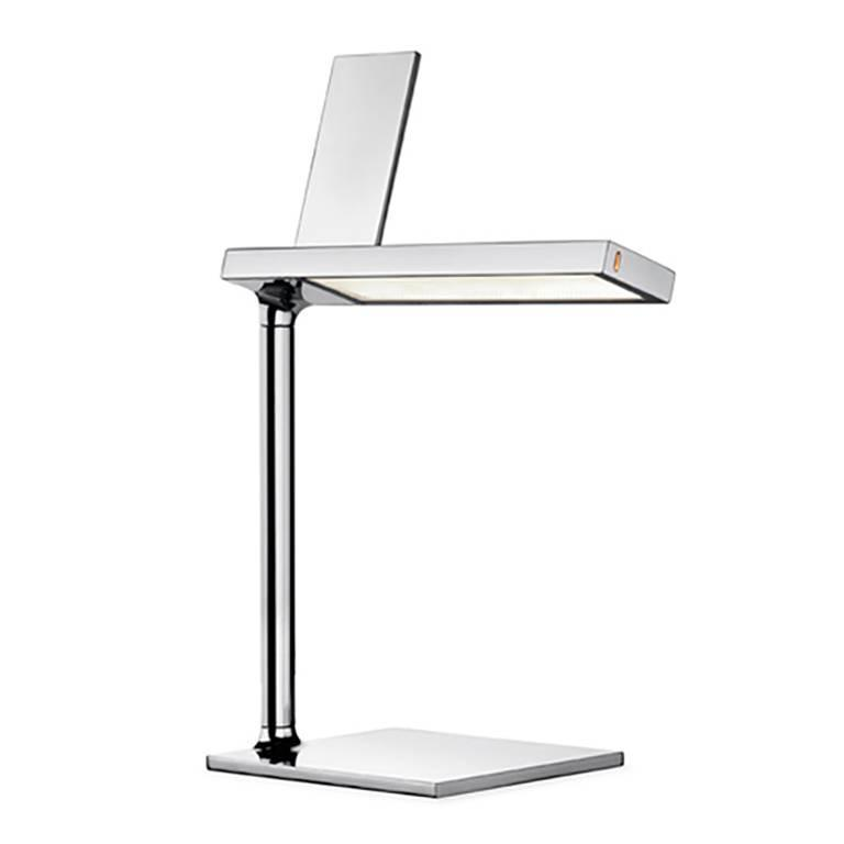 silver d 39 e light table lamp phone charger by philippe. Black Bedroom Furniture Sets. Home Design Ideas
