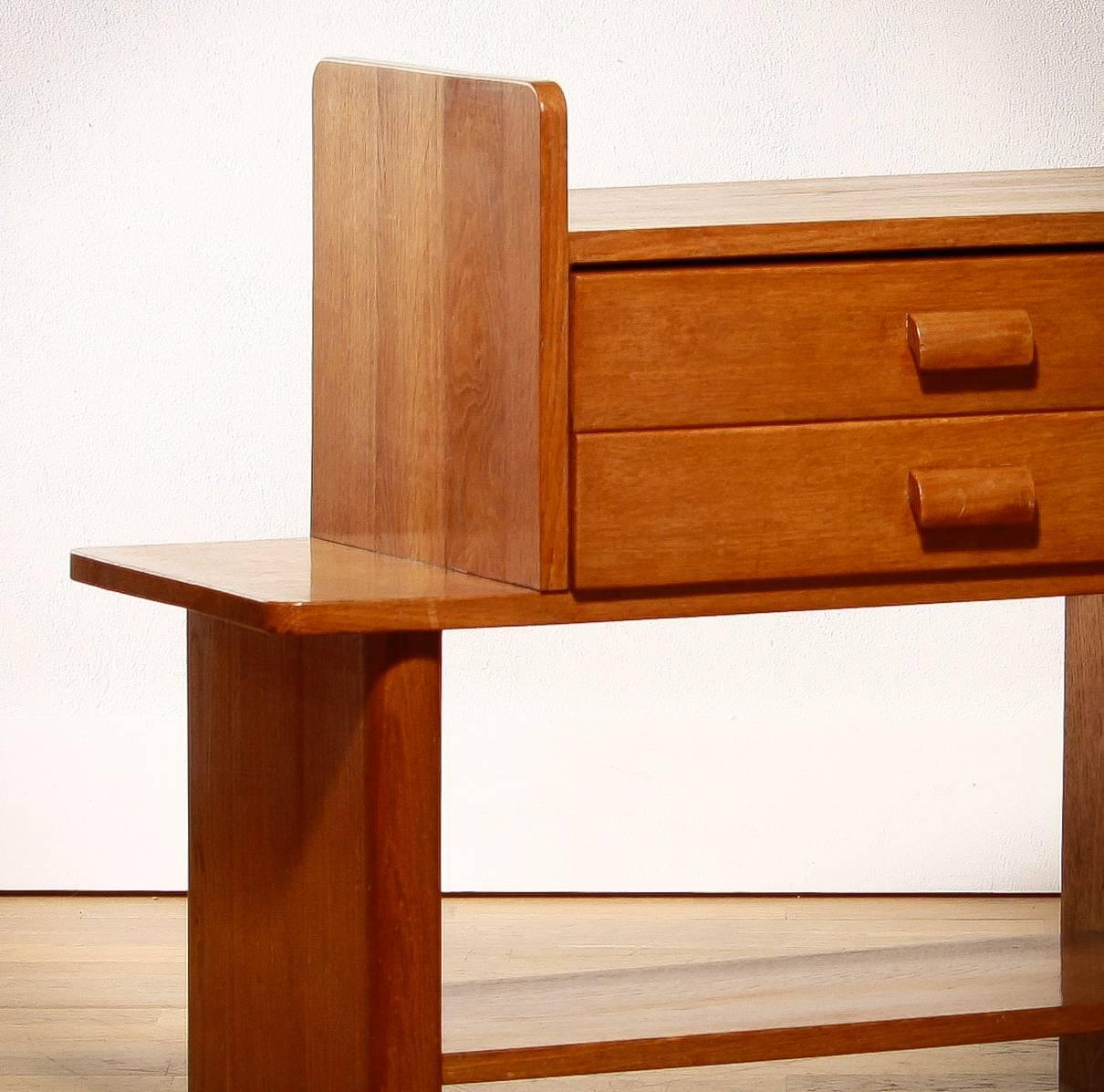 1950s Oak Bedside Table Or Drawer For Sale At 1stdibs. Full resolution‎  photo, nominally Width 1210 Height 1197 pixels, photo with #410F03.