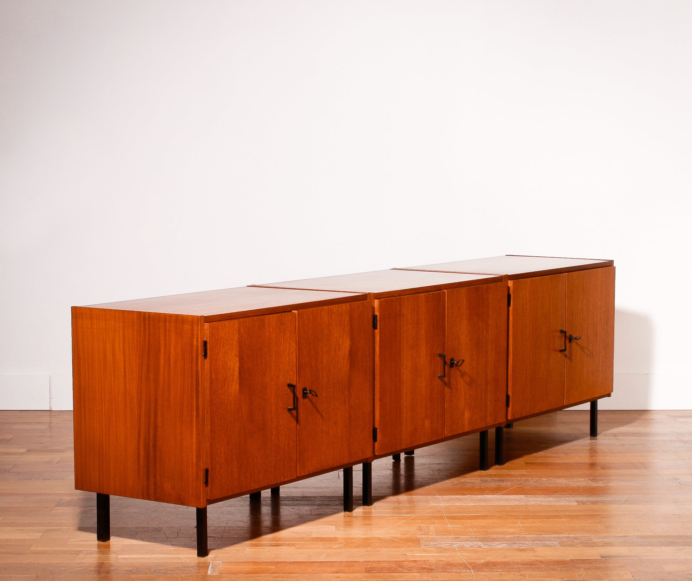 1950s By Simpla Lux Teak Sideboard At 1stdibs