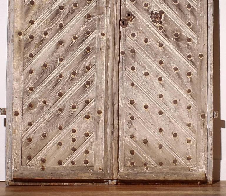 Very beautiful and rare castle doors.
