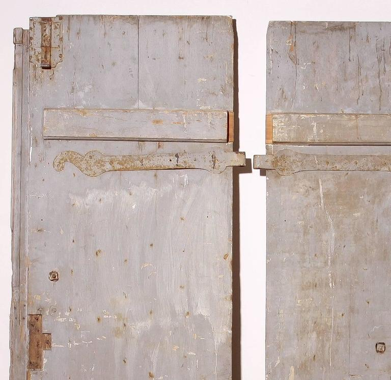 18th Century, Set of Two French Castle Doors For Sale 1