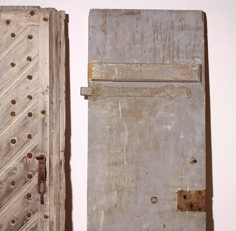 18th Century, Set of Two French Castle Doors For Sale 2