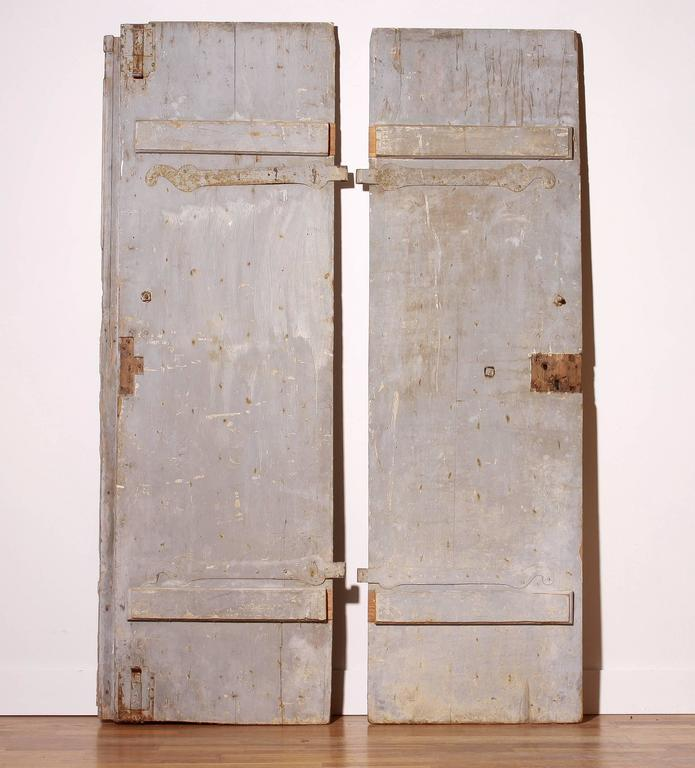 18th Century, Set of Two French Castle Doors For Sale 3