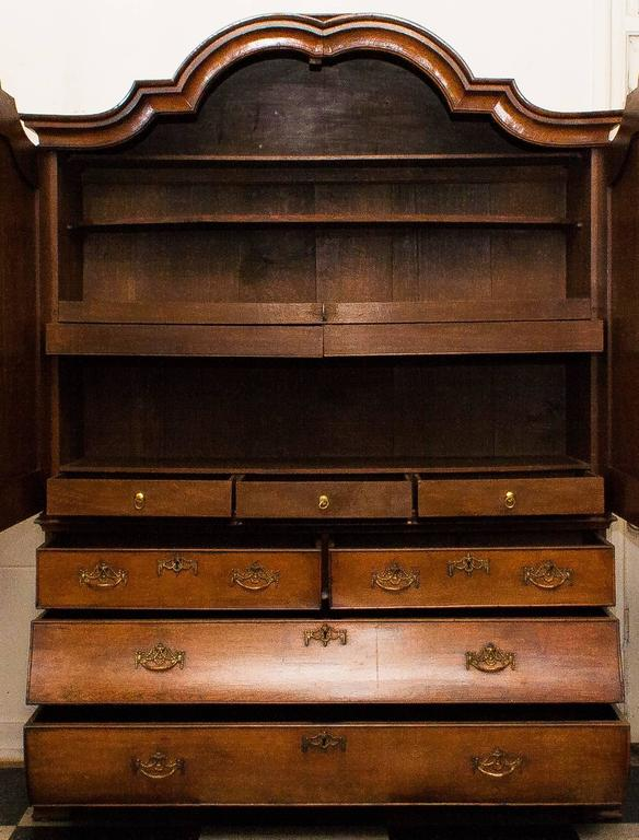 Early 19th Century 1820s, Antique Oak Cabinet