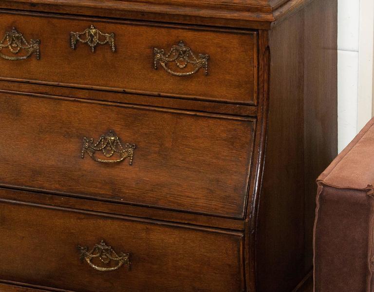 1820s, Antique Oak Cabinet 1