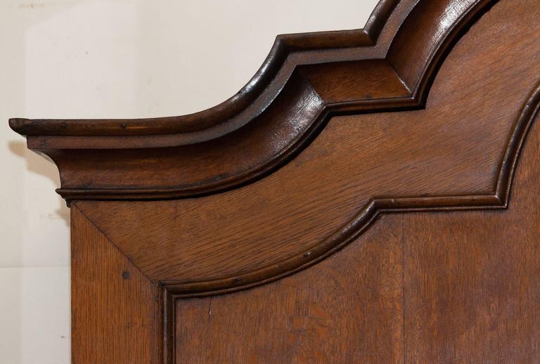 1820s, Antique Oak Cabinet 3