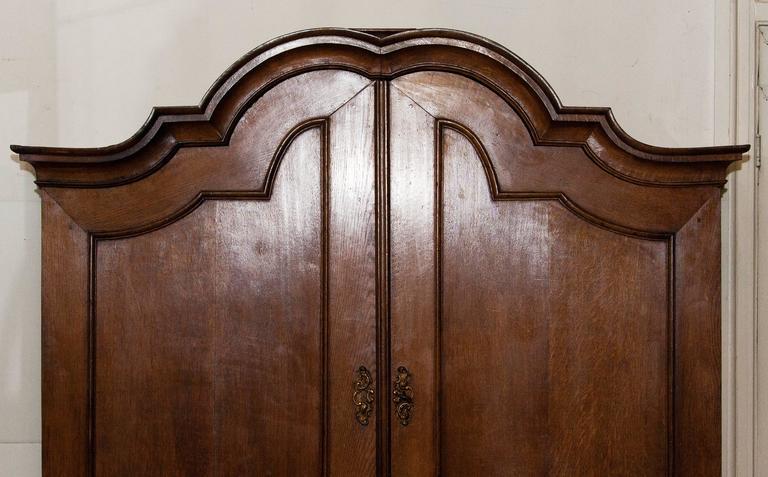 1820s, Antique Oak Cabinet 4