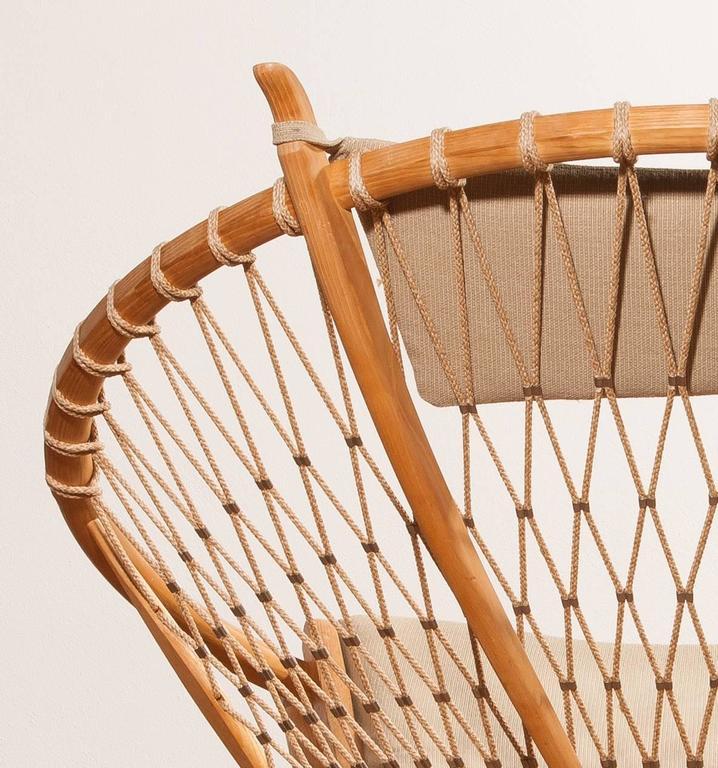 1980s ,'Circle' Chair by Hans J. Wegner for PP Möbler In Excellent Condition In Silvolde, Gelderland
