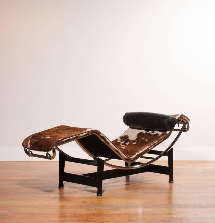 1966 lc4 by le corbusier for cassina at 1stdibs for Chaise le corbusier cassina