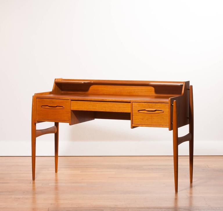 1950s Beautiful Teak Dressing Table Or Desk At 1stdibs