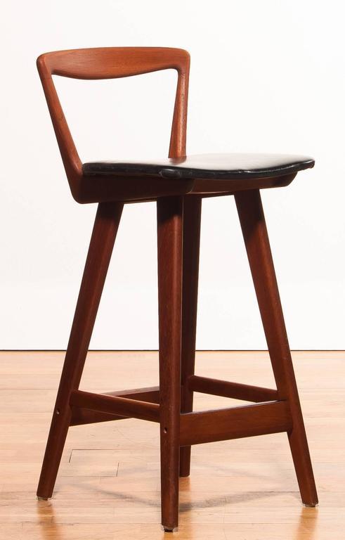 1960s Set Of Three Barstools By Henry Rosengren Hansen For