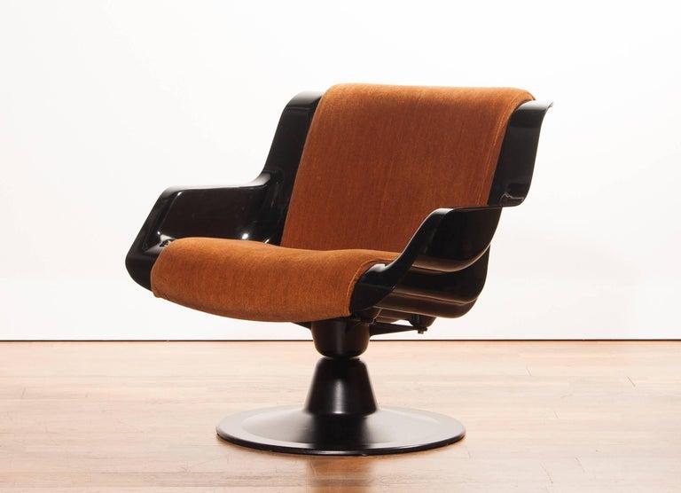 1960s, Yrjö Kukkapuro Set Chairs Model 3814-1KF 2