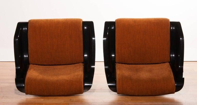 Mid-20th Century 1960s, Yrjö Kukkapuro Set Chairs Model 3814-1KF
