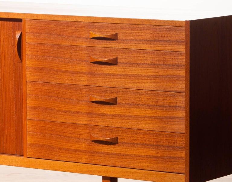 1960s, Sideboard In Teak Veneer By Ulferts At 1stdibs
