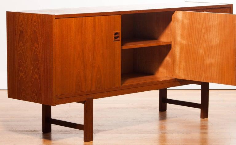 1950s Teak Sideboard by Erik Wørts For Sale 2