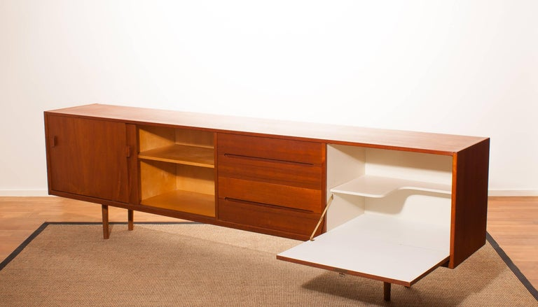 1960s, Teak Sideboard 'Grand' by Nils Johnson for Troeds Sweden For Sale 1
