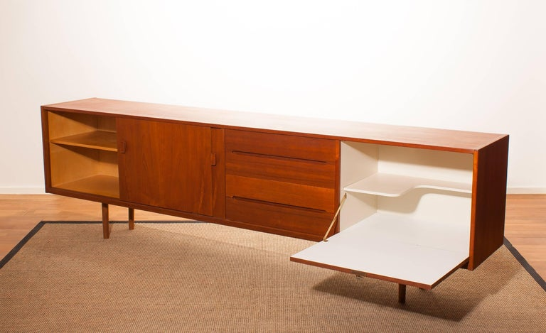 Mid-20th Century 1960s, Teak Sideboard 'Grand' by Nils Johnson for Troeds Sweden For Sale