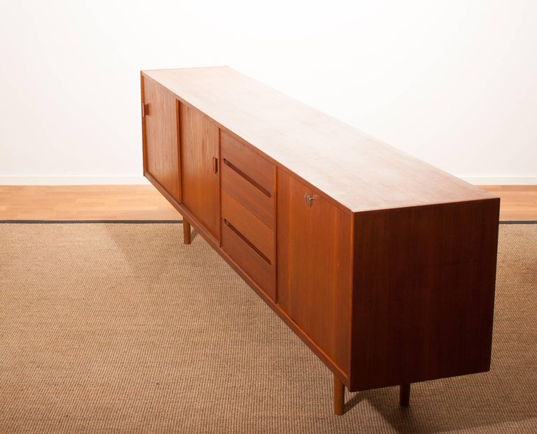 1960s, Teak Sideboard 'Grand' by Nils Johnson for Troeds Sweden For Sale 3
