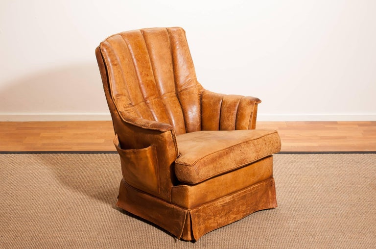 Fantastic club - armchair from France.