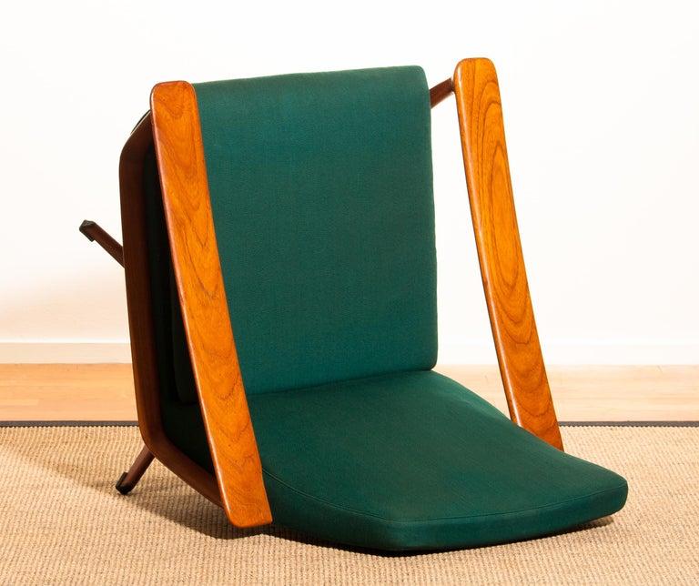 1960s, Teak Swivel Chair by Johannes Andersen for Trensum Denmark For Sale 7