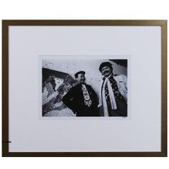 Nico Koster Framed Photograph, Walasse Thing & Karel Appel