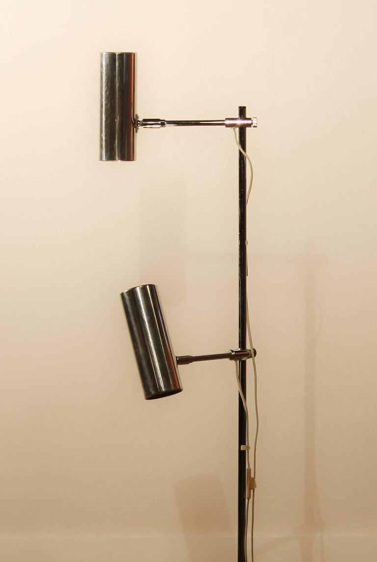 Beautiful floor lamp made by Bergboms Scanlight AB Sweden.