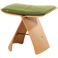 1950s, Marple Butterfly Stool by Sori Yanagi for Tendo Mokko