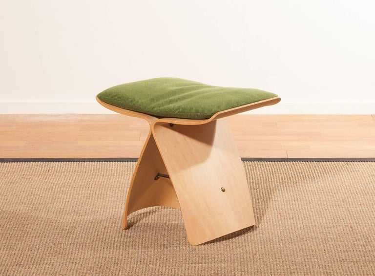 Mid-20th Century 1950s, Marple Butterfly Stool by Sori Yanagi for Tendo Mokko For Sale