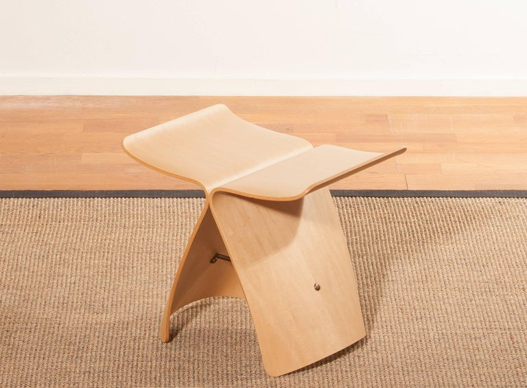 Plywood 1950s, Marple Butterfly Stool by Sori Yanagi for Tendo Mokko For Sale