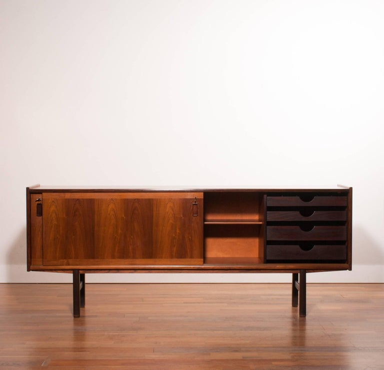 "Beautiful sideboard in ""Rio Palissander"" rosewood veneer.