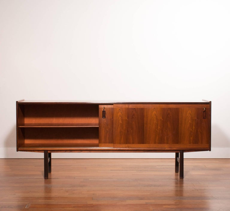 Danish 1950s, Rosewood Sideboard by Gunni Omann For Sale
