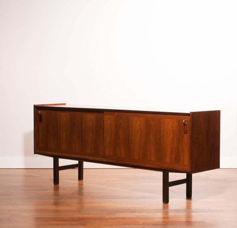 Veneer 1950s, Rosewood Sideboard by Gunni Omann For Sale