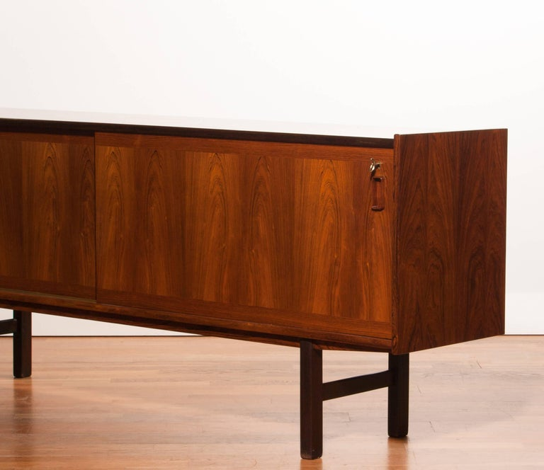 1950s, Rosewood Sideboard by Gunni Omann In Excellent Condition For Sale In Silvolde, Gelderland
