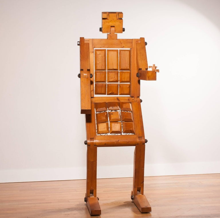 1970s, Pinewood Robot Chair For Sale 5