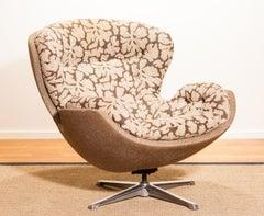 1970s, Swivel Lounge Chair 'Partner' by Lennart Bender for Ulferts