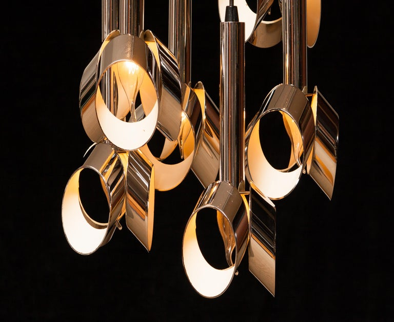 Beautiful ceiling lamp attributed to RAAK Amsterdam.