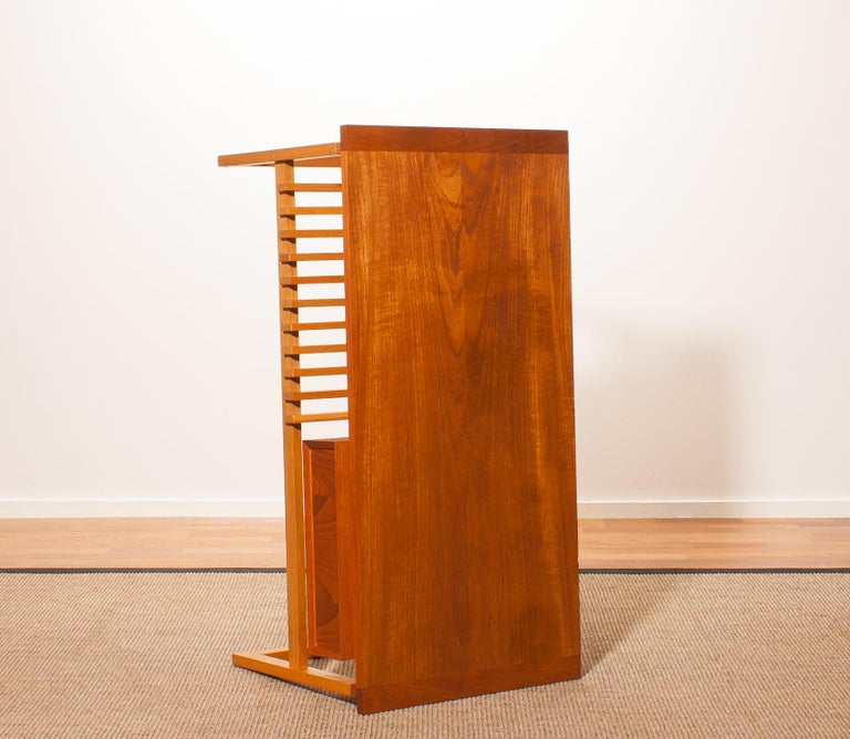 Mid-20th Century Teak Coffee or Side Table, Denmark, 1950s For Sale