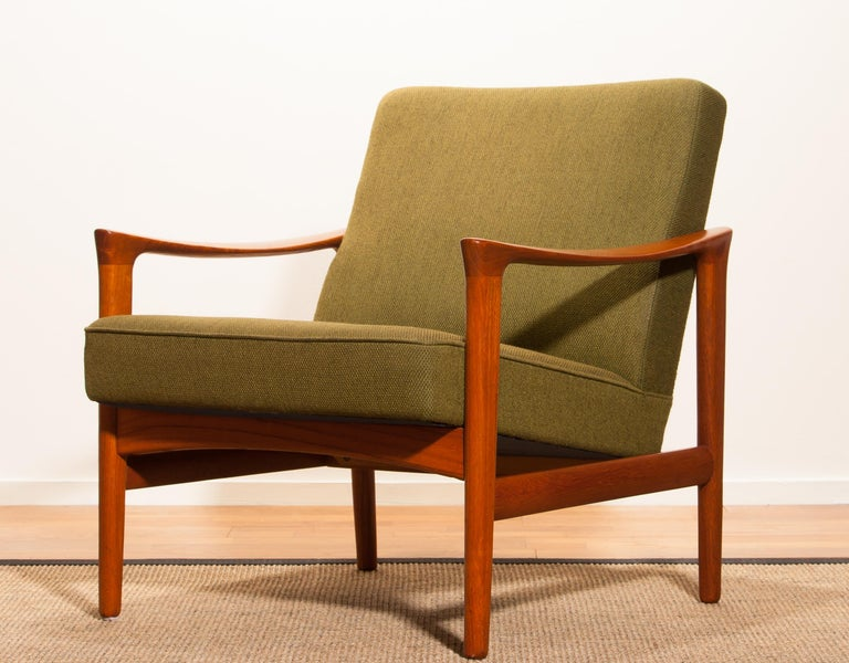 A beautiful lounge chair designed by Erik Wørts and produced by Bröderna Andersson Sweden.