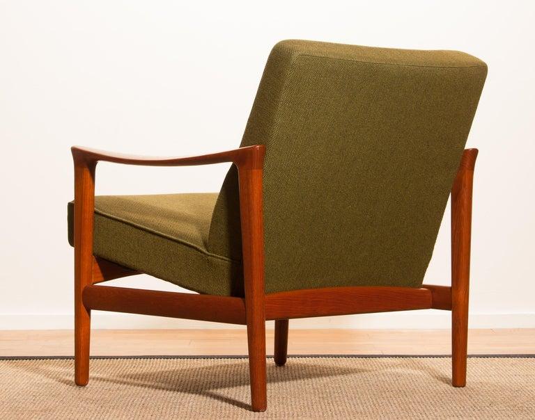 Swedish 1960s, Teak Lounge Chair by Erik Wørts for Bröderna Andersson For Sale